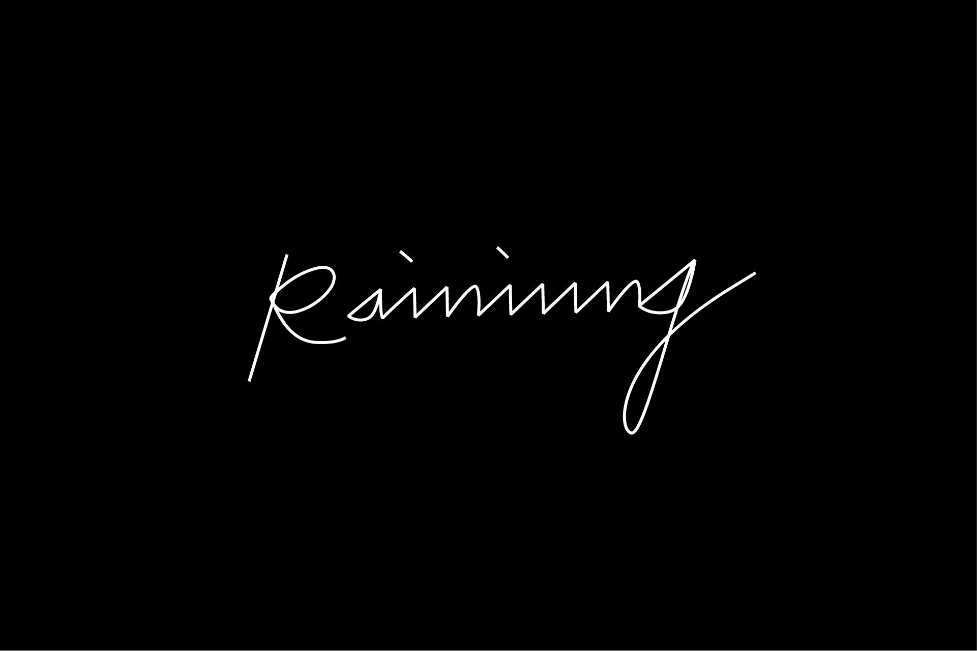 Raining_white